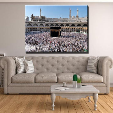 ZUDO CANVAS: TAWAF AT KAABA CANVAS 1 PC