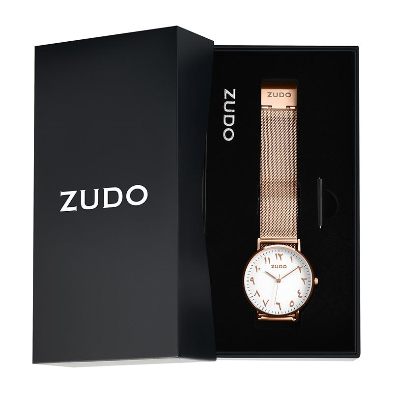 ZUDO - Arabic Numeral Watch - Packaging
