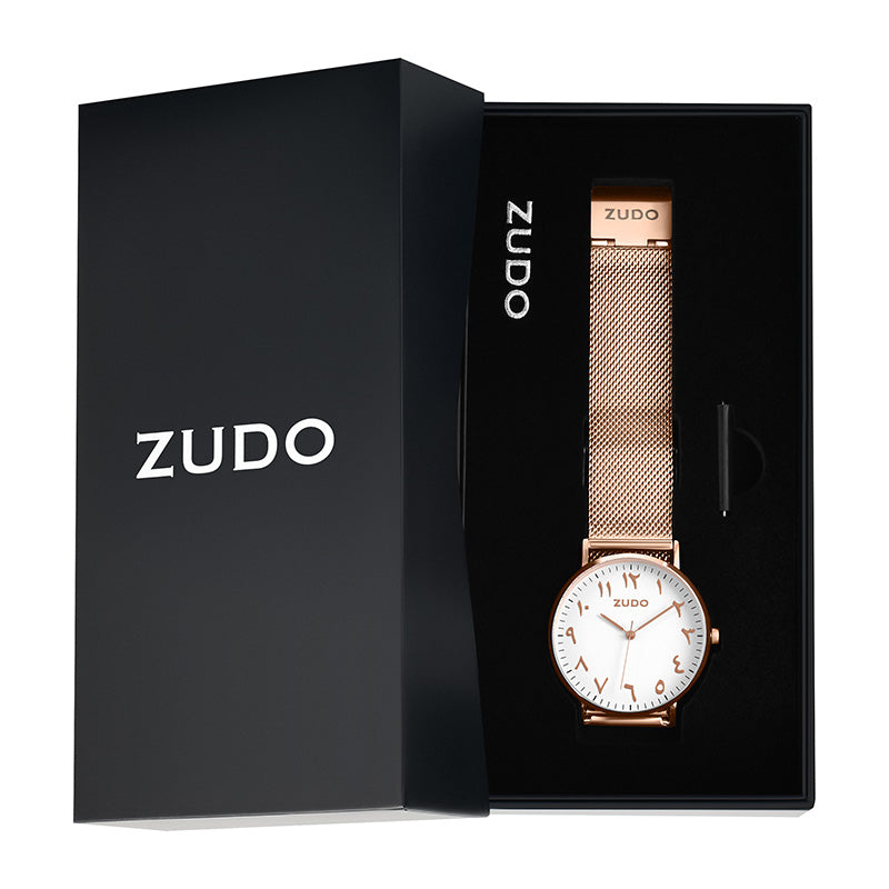 ZUDO - Origin - Arabic Numeral Watch