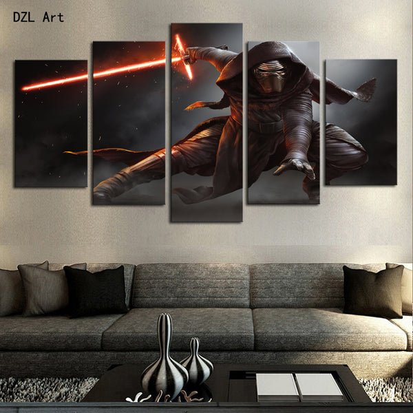 Star Wars Home Wall Decor Canvas For Living Room