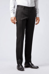 Hugo Boss, Slim Fit Trousers - Black