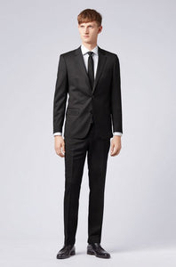 Hugo Boss, Slim-fit jacket - Black