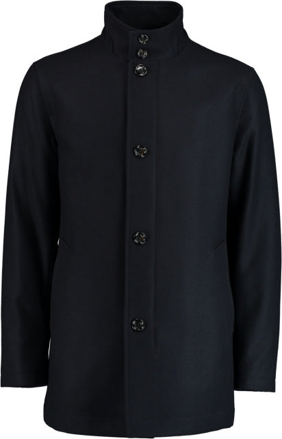 Hugo Boss, Regular Fit Coat - Navy