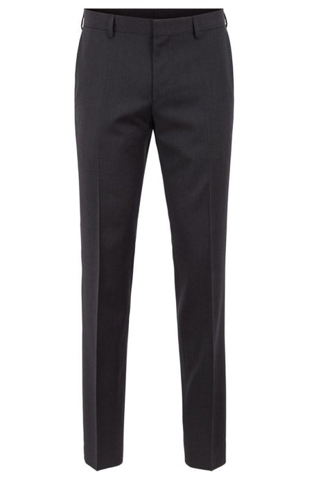 Hugo Boss, Slim Fit Trousers - Charcoal