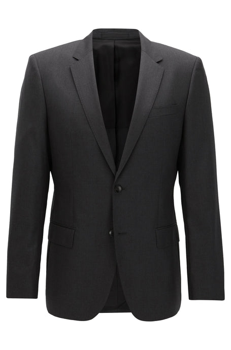 Hugo Boss, Slim-fit jacket - Charcoal