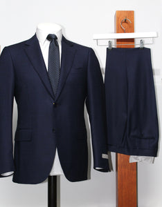 Canali, Pure Wool Suit - Navy