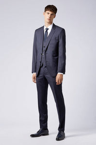 Hugo Boss, Slim-fit jacket - Navy