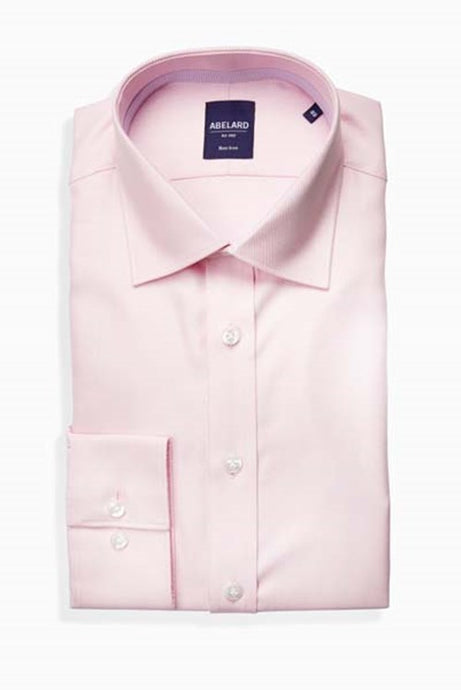 Abelard, Non-Iron, Slim Fit- Pink