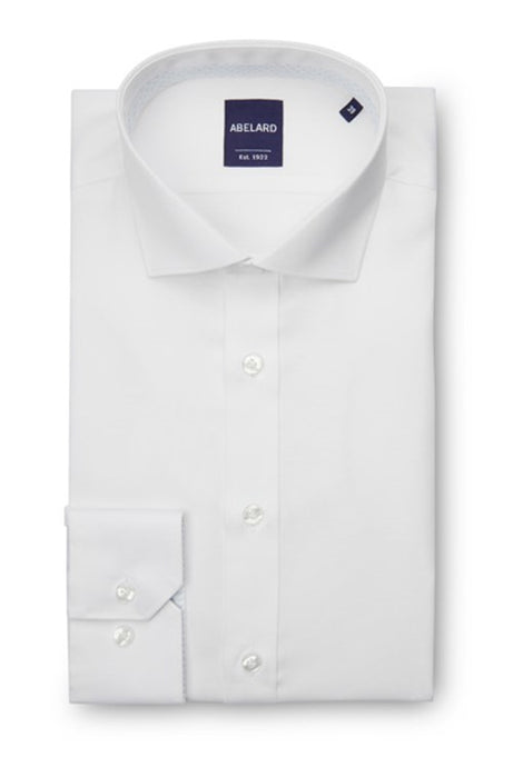 Abelard, Non-Iron, Slim Fit- White