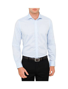 Abelard, Non-Iron, Slim Fit - Blue