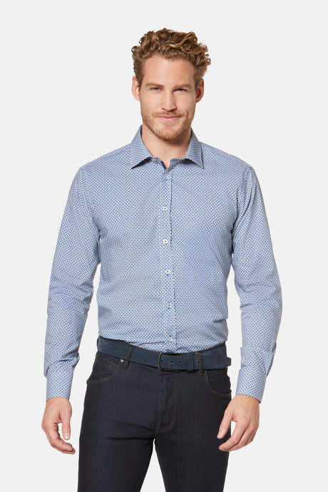Bugatti, Regular Fit, Shirt - Blue