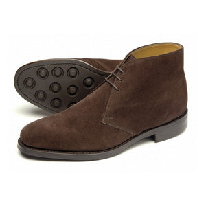 Loake, Pimlico - Brown Suede