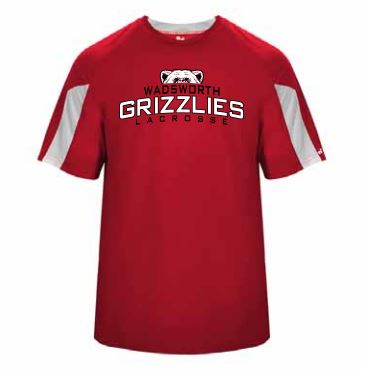 Wadsworth Boys LAX 417600 – Badger Short Sleeve Dir Fit – Shooting Shirt
