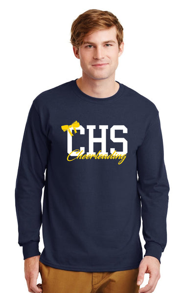 Unisex 50/50 SS Long Sleeve Tee - Copley Cheer