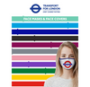 Mind The Gap TFL Face Mask