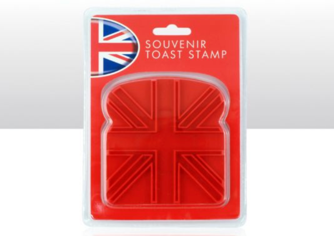 Union Jack Toast Stamp- FREE International Shipping