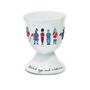 Alice Tait 'London Soldiers' egg cup- PAIR