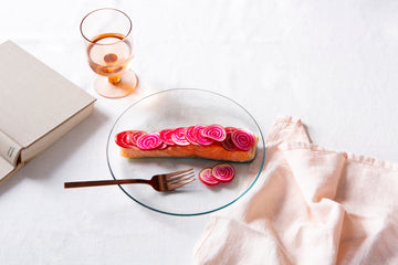 #RaelEats: For when you feel slow and can't focus: Shaved Beets with Roast Salmon