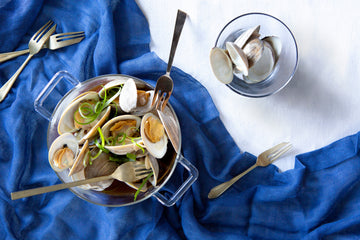 For when you're bloated and sleep-deprived: Miso Clams