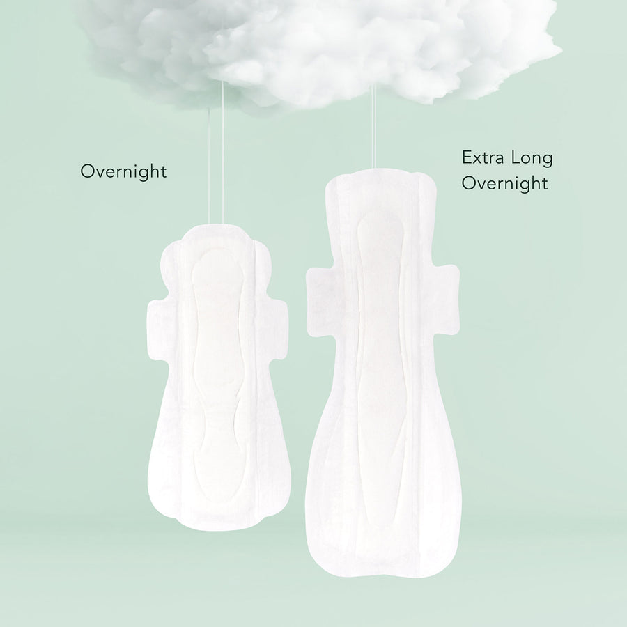 Organic Cotton Overnight Pads (4551693860979)