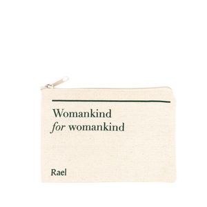Womankind Canvas Pouch