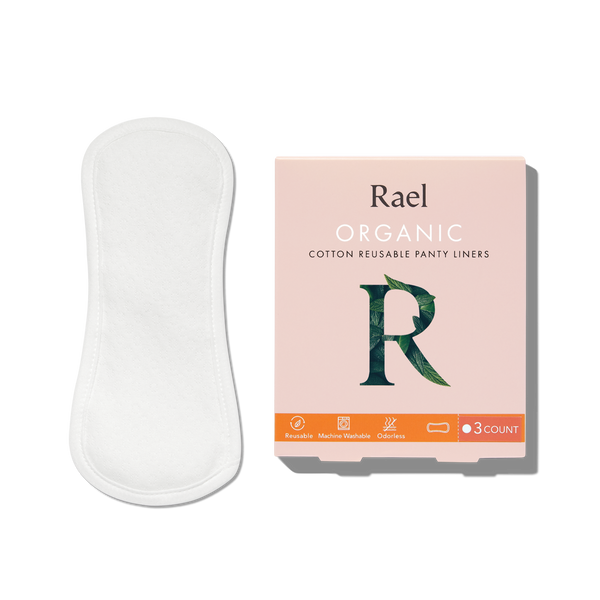 Organic Cotton Reusable Liners by Rael