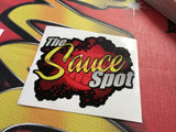 THE SAUCE SPOT STICKER TEN PACK