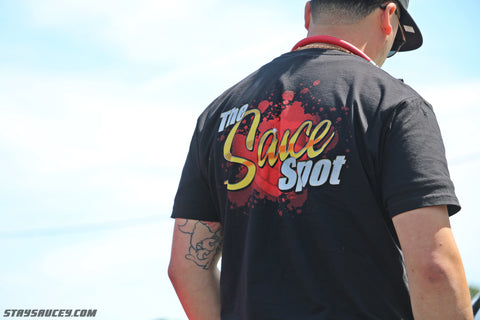 """The Sauce Spot""    Logo T-Shirt"