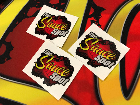 THE SAUCE SPOT MINI STICKER - 3 PACK