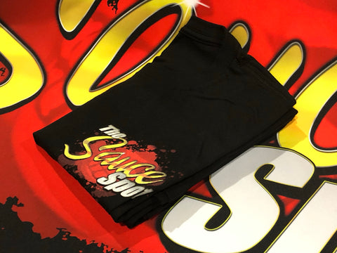 "T-Shirt ""The Sauce Spot"" Logo - BLACK"