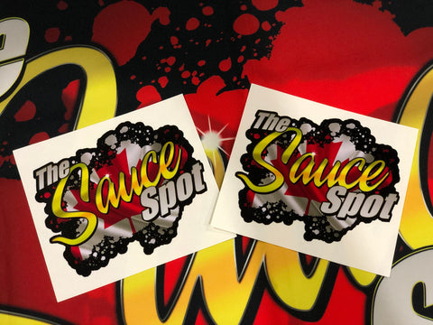 THE SAUCE SPOT STICKER - CANADA 2 PACK