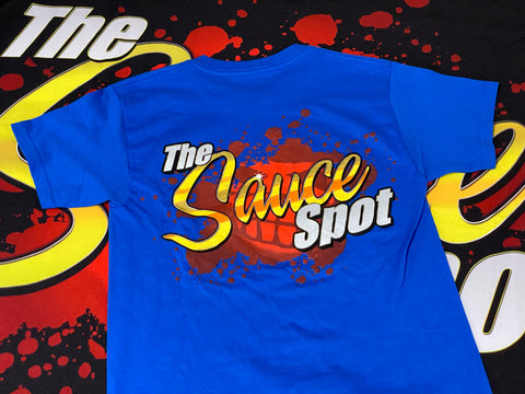 "Kids ""The Sauce Spot"" T-Shirt - BLUE"