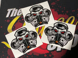 THE SAUCE SPOT STICKER - ESSENTIAL RACER 3 PACK