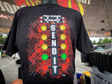 "T-Shirt ""SEND IT"" - BLACK"