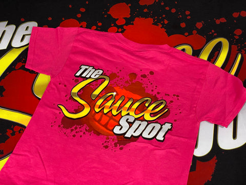 "Kids ""The Sauce Spot"" T-Shirt - PINK"