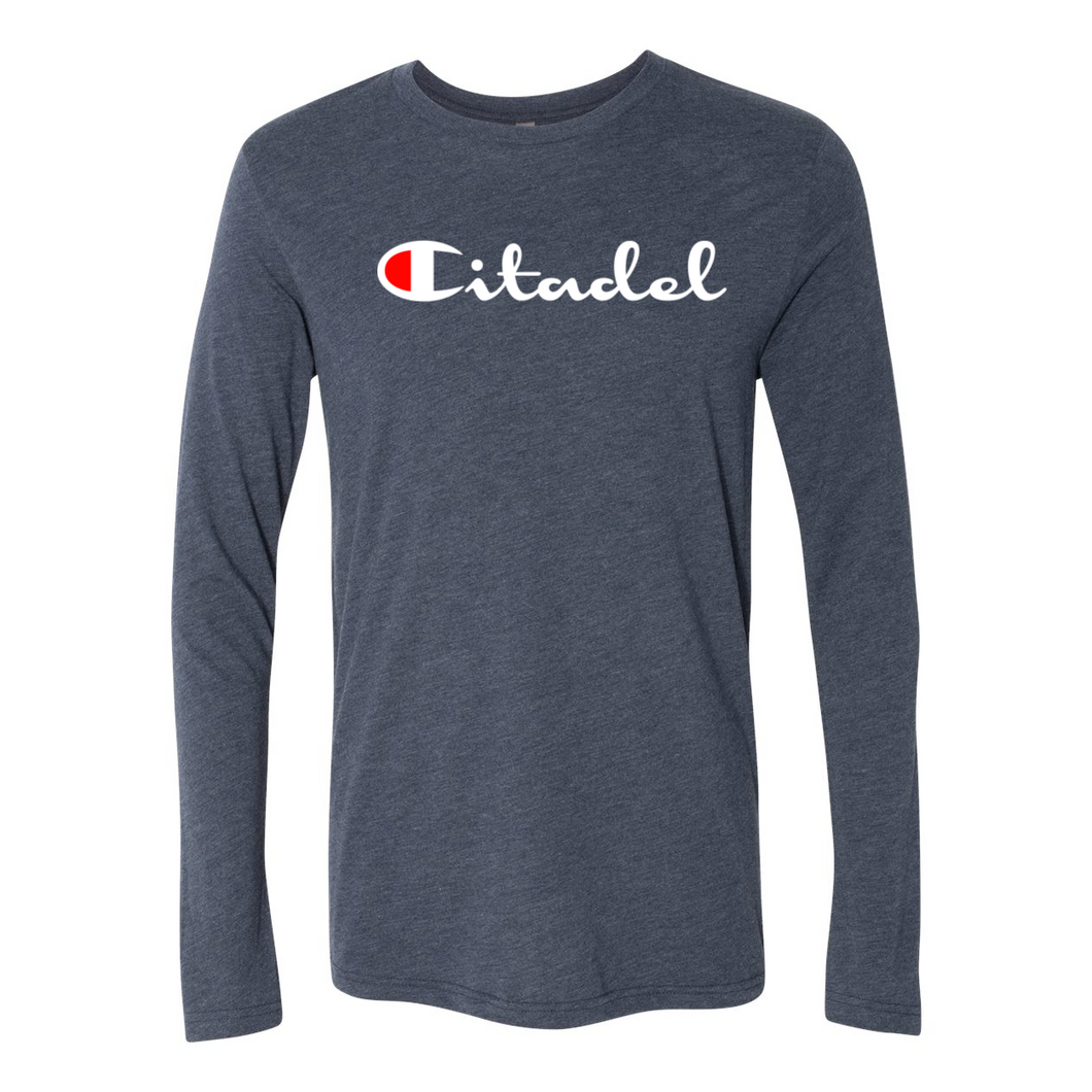Citadel Triblend Long Sleeve Crew