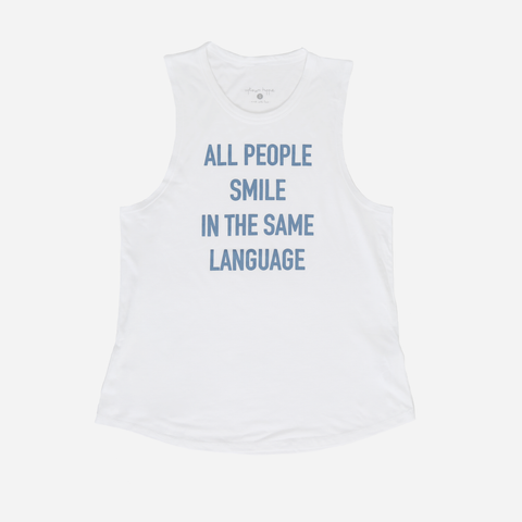 All People Smile Tank