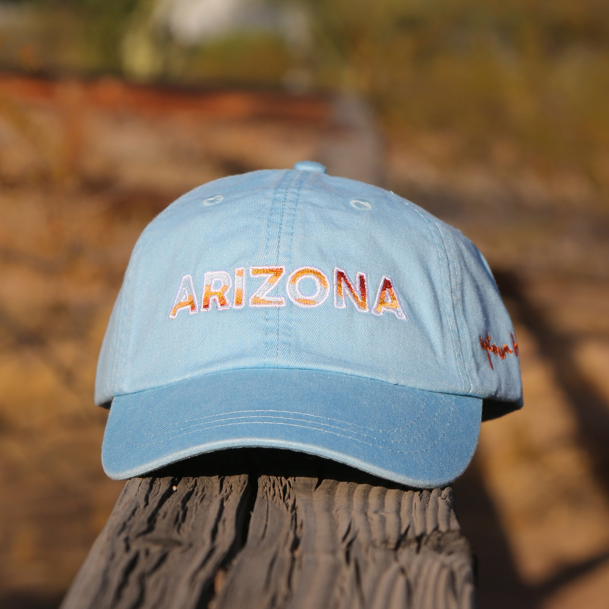 Baby Blue Arizona Dad Hat