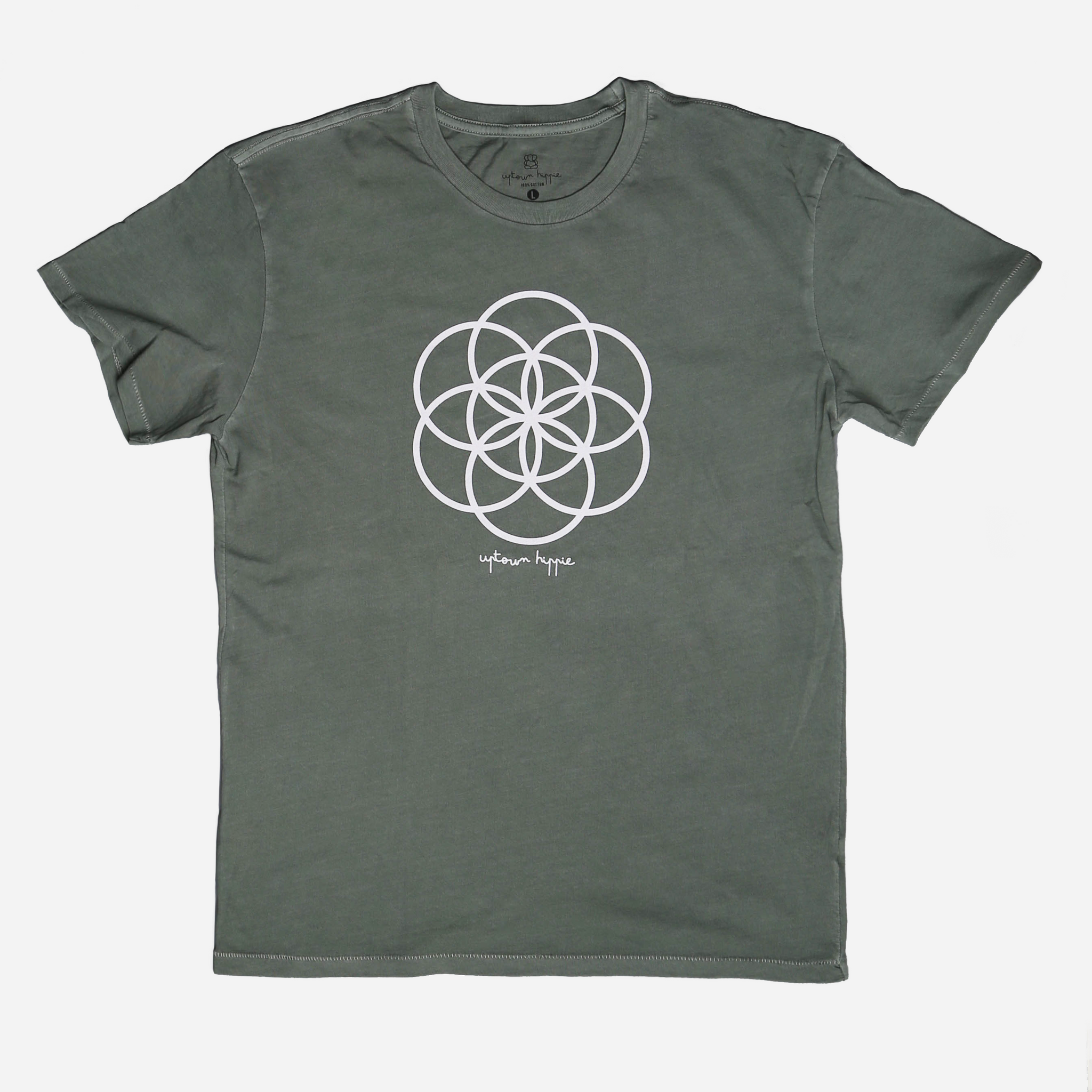 Green Seed of Life Shirt