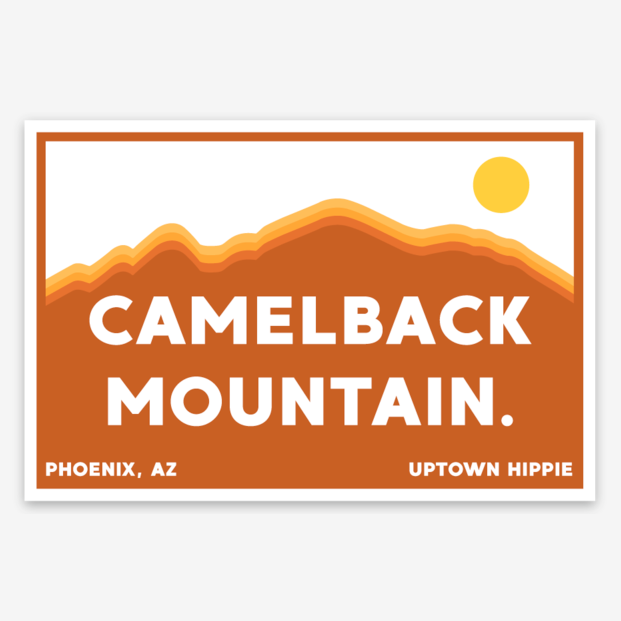 Camelback Mountain Sticker
