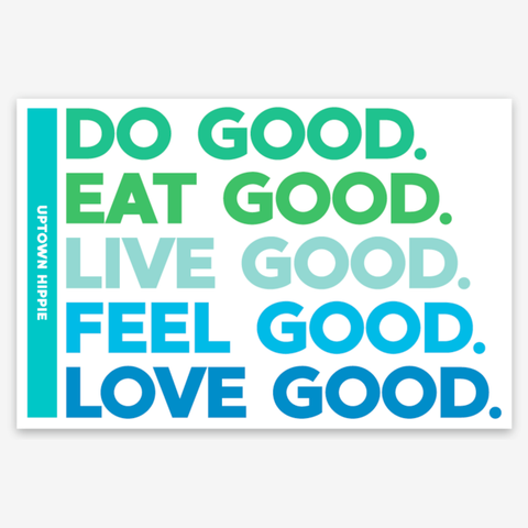 Do Good Sticker