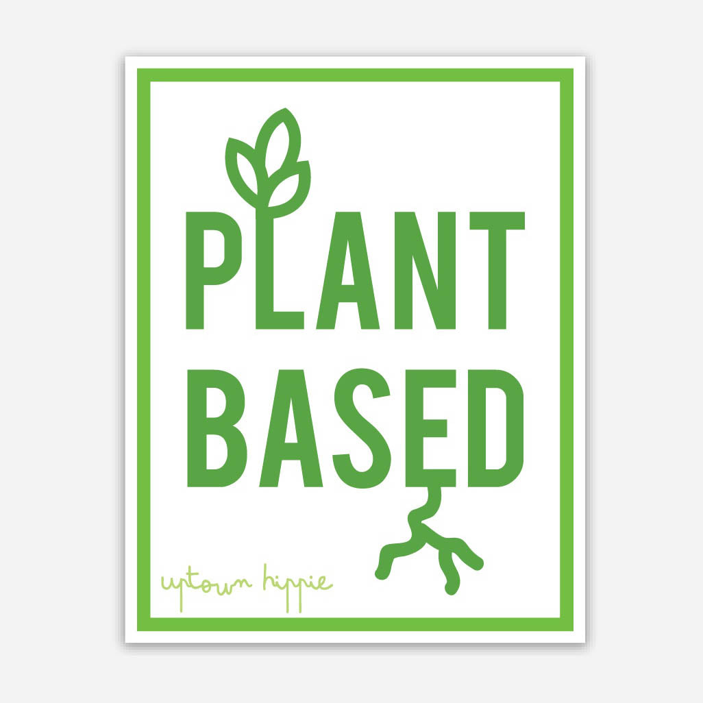 Plant Based Sticker