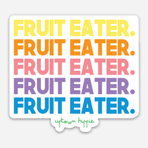 Fruit Eater Sticker