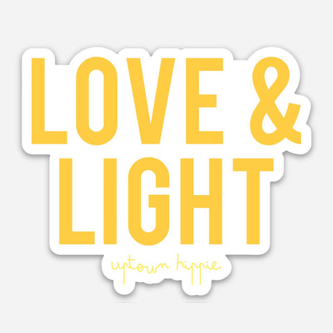 Love & Light Sticker