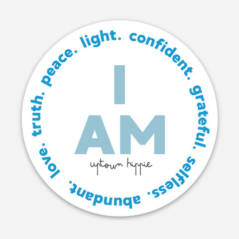 I AM Sticker