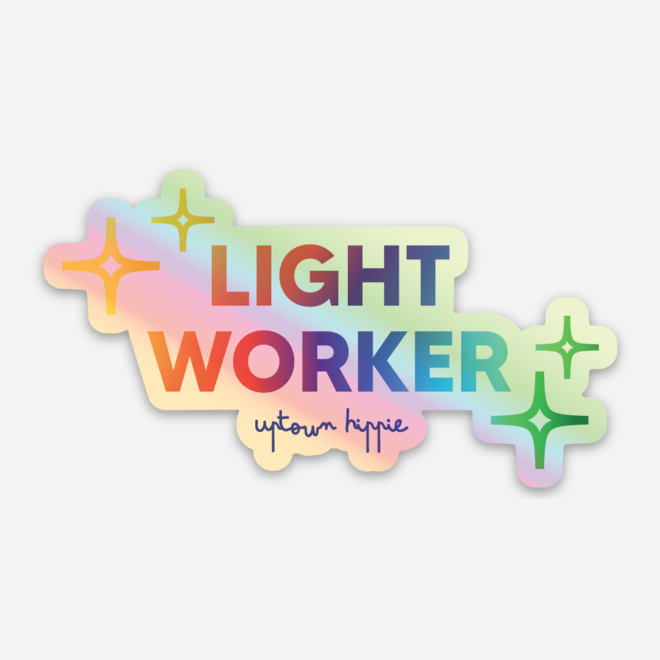 Light Worker Sticker