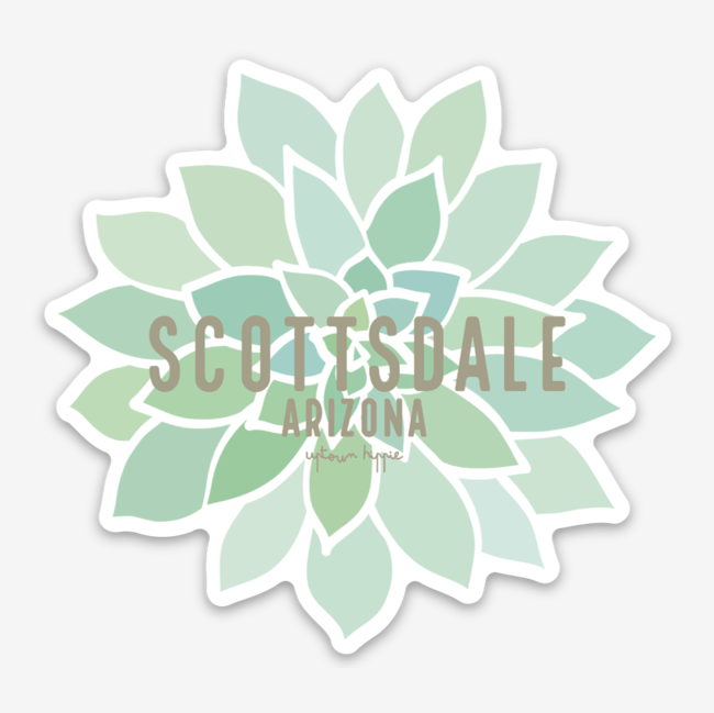 Scottsdale Arizona Sticker