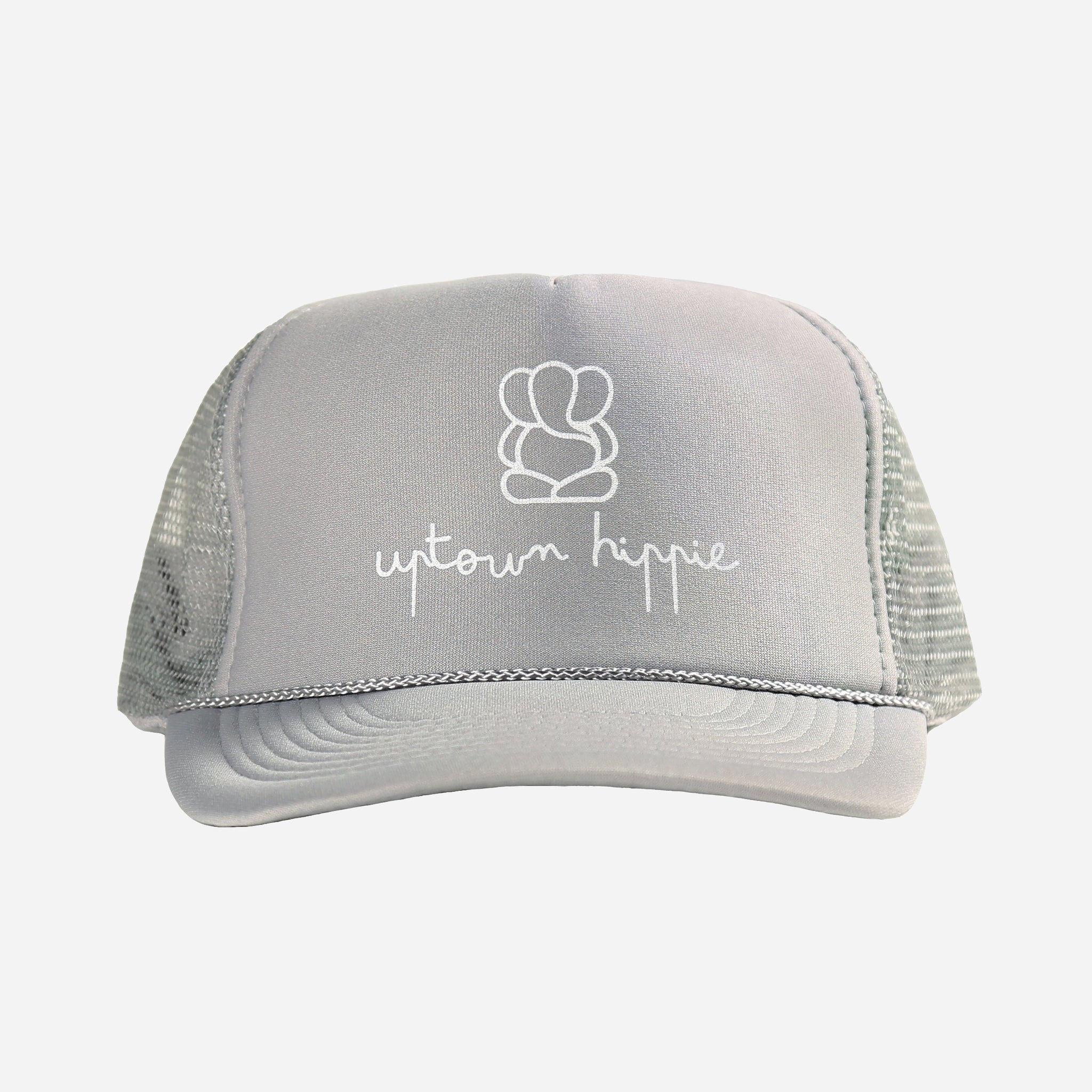 Grey Uptown Hippie Hat
