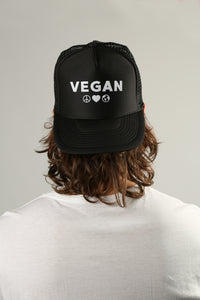 Black Vegan Hat