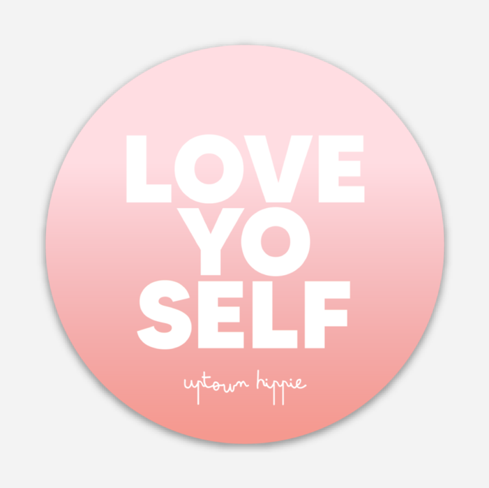 Love Yo Self Sticker